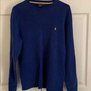 Blue men's Ralph Lauren sweater